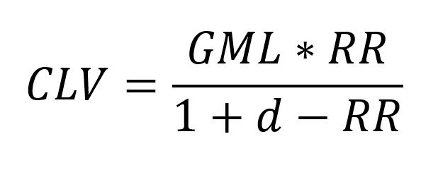 Customer Lifetime Value (CLV) Formula